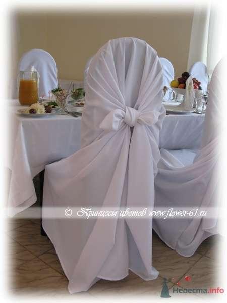 Аренда свадебных чехлов на стулья от  Принцессы Цветов  - фото 63410 Невеста01