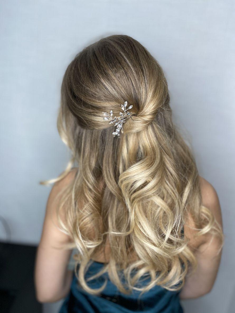 Причёска для гостей невесты