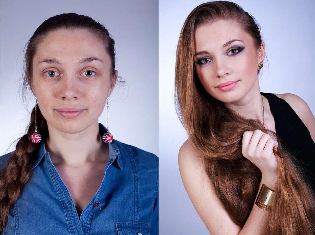фото работ визажистов до и после еще одним листом