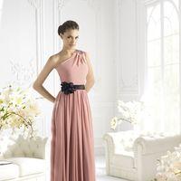 Подружка невесты-розовый и черный
