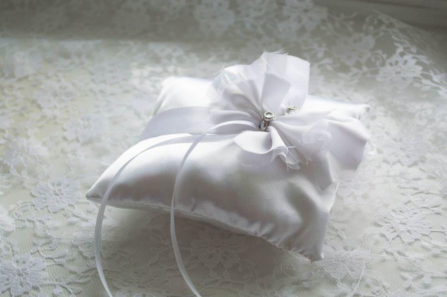 Фото 1488273 в коллекции Подушечки для колец - Olga Kalyakina - свадебные аксессуары