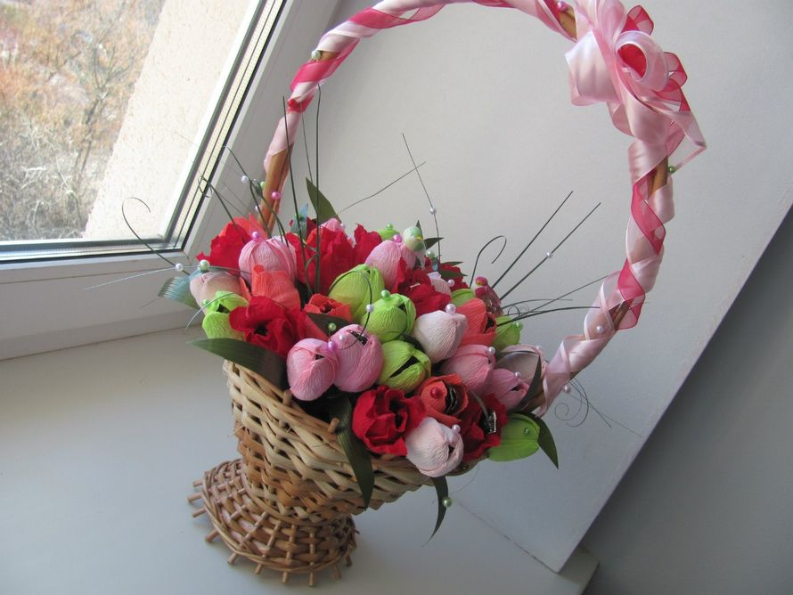 Фото 1488511 в коллекции Сладкие подарки молодоженам - Olga Kalyakina - свадебные аксессуары