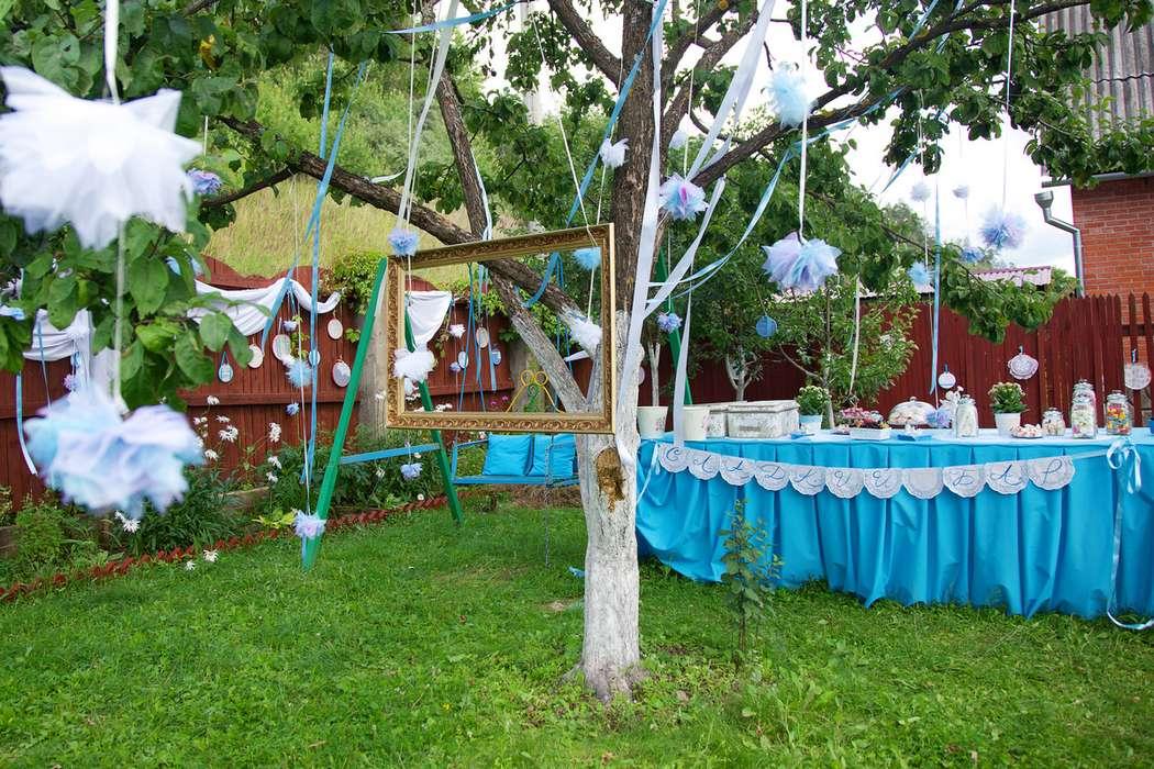 Оформление на свадьбу на даче