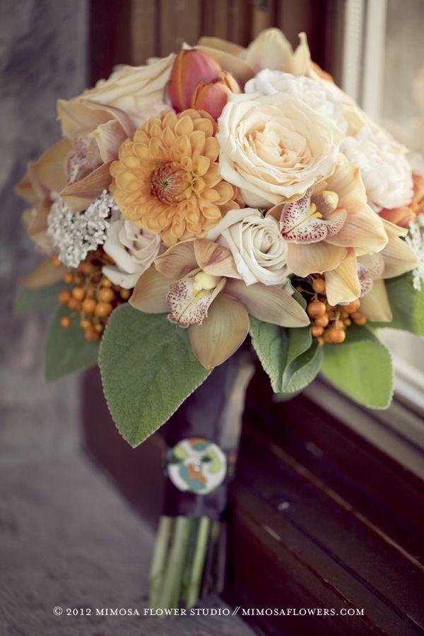 Какие цветы персикового букет, цветы