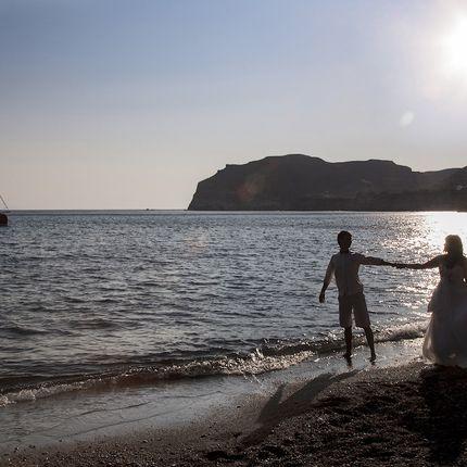 Символическая церемония на островах Греции