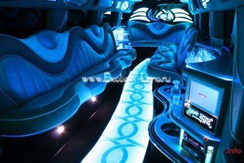 Фото 4207 в коллекции Лимузин Hummer H2 - Экзотические лимузины - аренда лимузинов
