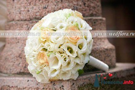 Фото 90126 в коллекции Букет невесты, подружек, и бутоньерка жениха! - Невеста Настенька