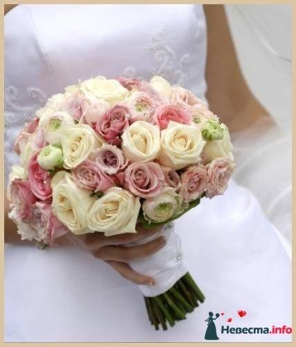Фото 90168 в коллекции Букет невесты, подружек, и бутоньерка жениха! - Невеста Настенька
