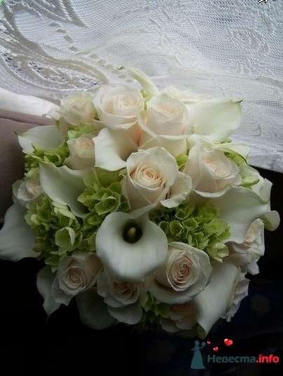 Фото 90196 в коллекции Букет невесты, подружек, и бутоньерка жениха! - Невеста Настенька