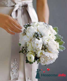 Фото 90201 в коллекции Букет невесты, подружек, и бутоньерка жениха! - Невеста Настенька