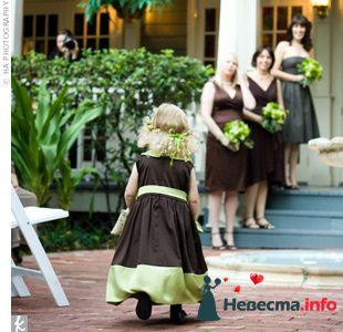 Фото 103271 в коллекции Зеленая свадьба - Невеста Настенька