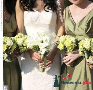 Фото 103285 в коллекции Зеленая свадьба - Невеста Настенька
