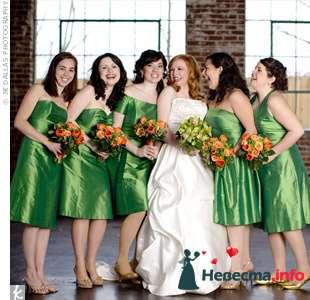 Фото 103304 в коллекции Зеленая свадьба - Невеста Настенька
