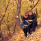 осенняя фотосессия Ани и Стаса в парке Коломенское, осень, love story, фотопрогулка, осенняя лав стори