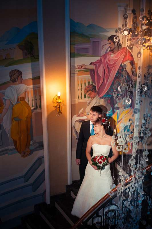Фото 590736 в коллекции Свадебные фотографии - Фотограф Андрей Федоров
