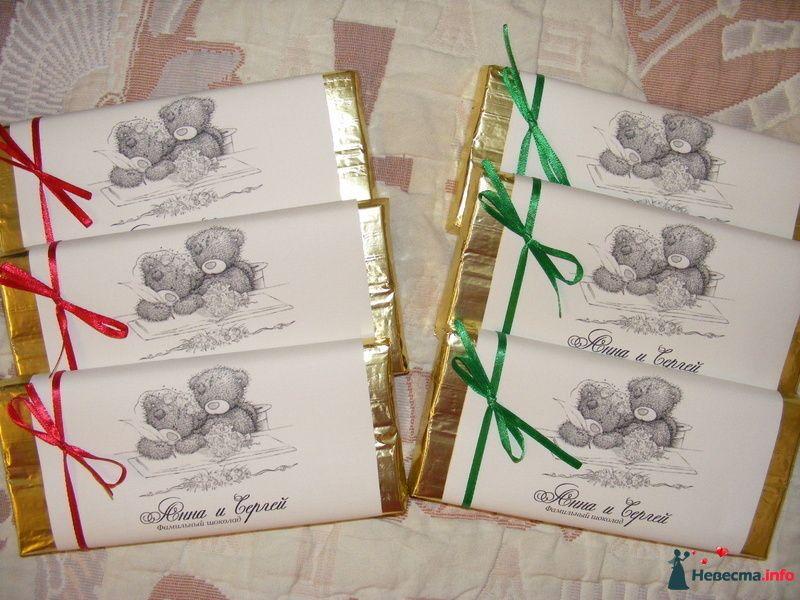 шоколадки вместо бонбоньерок - фото 83522 Era