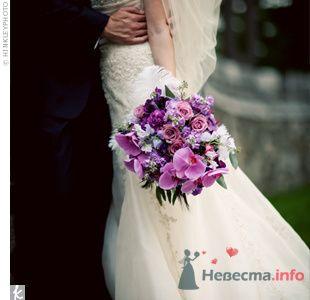 Фото 72080 в коллекции PURPLE Flowers For Bride - Brittany
