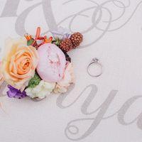 цветы, букет, свадебный букет, невеста, бабочка жениха, лав стори, венок, невеста ,жених, оранжевый цвет, сиреневый цвет, love story, бутоньерка