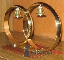 Кольца латунь цена 4000руб. т.8-951-86-88-187 - фото 70376 Украшения на свадебные авто