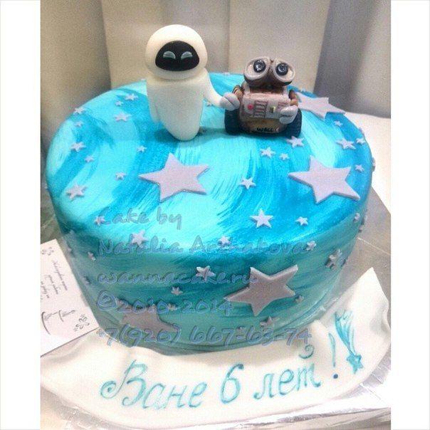 """Что тут добавить? Торт """"WALL-E"""" - фото 3623453 Свадебные торты от Наталии Аржаковой"""