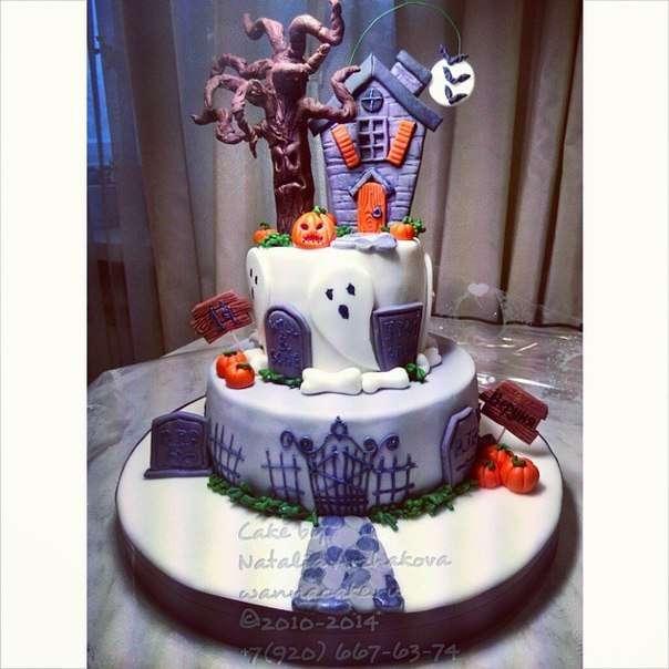 Как ни странно, но этот торт был заказан на день рождения одной замечательной тринадцатилетней девочке. :) - фото 3623455 Свадебные торты от Наталии Аржаковой