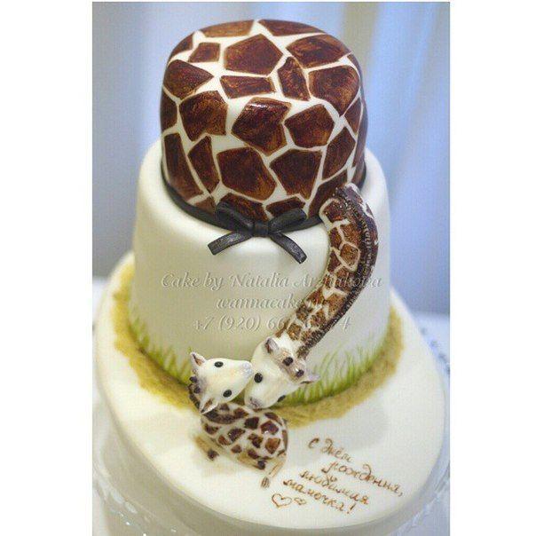 Это наверное самый милый торт, который я делала за семь лет. - фото 3623459 Свадебные торты от Наталии Аржаковой