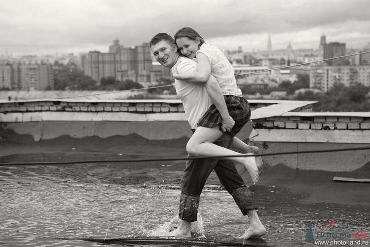 Фото 69170 в коллекции Над Москвой - Свадебные фотоистории от Андрея Егорова