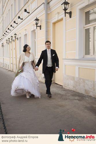 Свадебная прогулка по улочкам Москвы - фото 91228 Свадебные фотоистории от Андрея Егорова