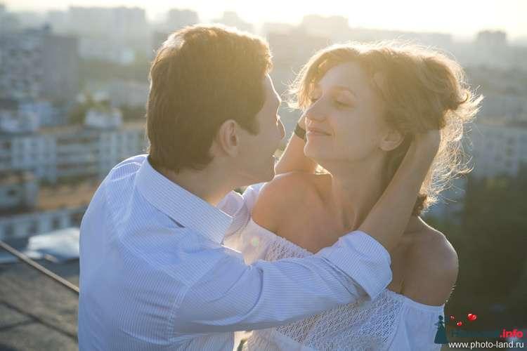 Love Story на крыше - фото 94835 Свадебные фотоистории от Андрея Егорова