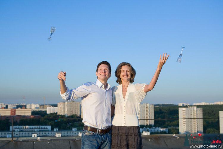 Love Story на крыше - фото 94837 Свадебные фотоистории от Андрея Егорова