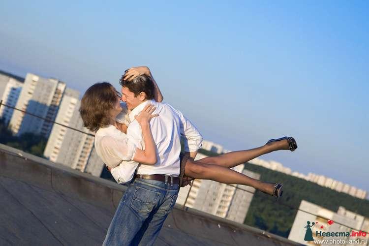 Love Story на крыше - фото 94846 Свадебные фотоистории от Андрея Егорова