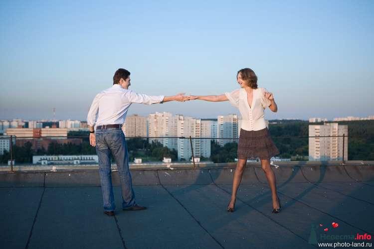 Love Story на крыше - фото 94847 Свадебные фотоистории от Андрея Егорова