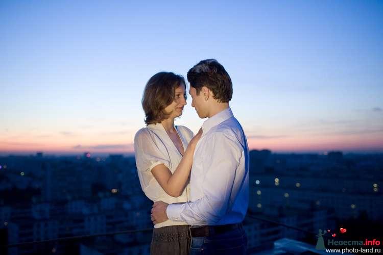 Love Story на крыше - фото 94854 Свадебные фотоистории от Андрея Егорова