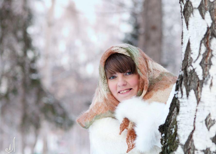 Свадьба зимой.  - фото 1371274 Свадебный и семейный фотограф Лобанова Елена