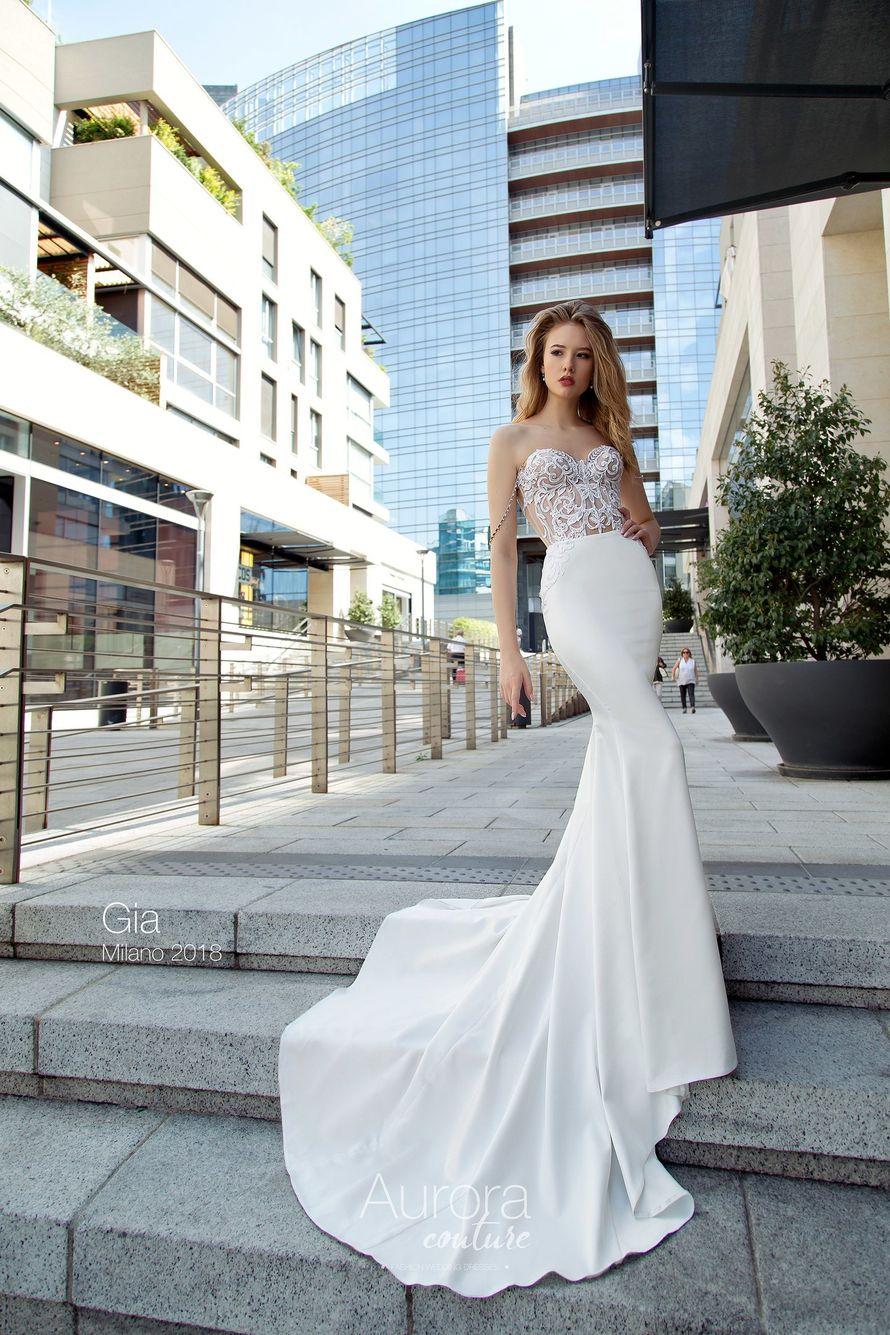 """Фото 17103410 в коллекции Свадебные платья в наличии - Салон свадебной и вечерней моды """"Barsonini"""""""