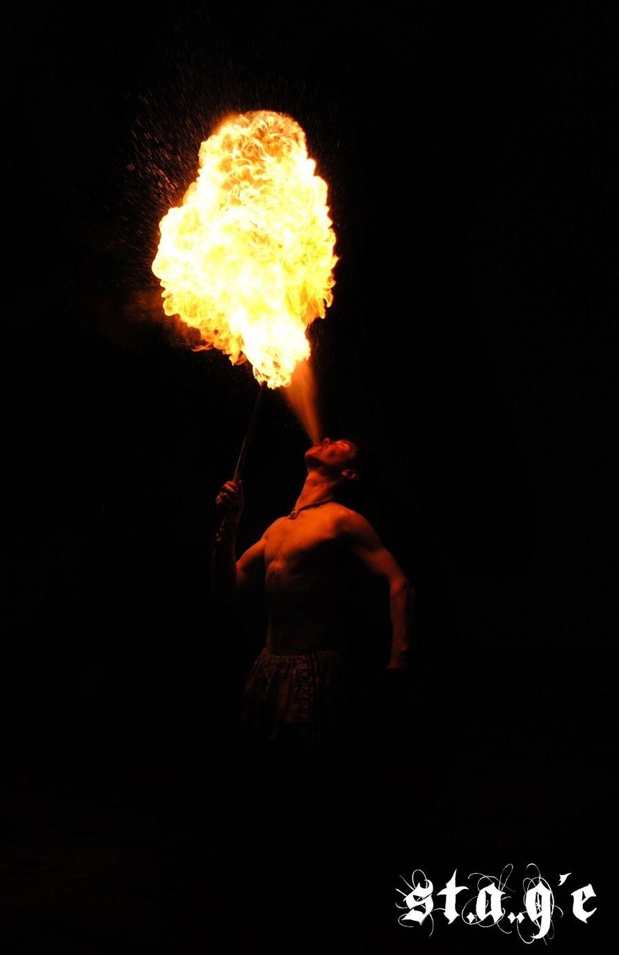 Фото 623327 в коллекции Мои фотографии - Огненно-пиротехническое и световое шоу St.A.G'e