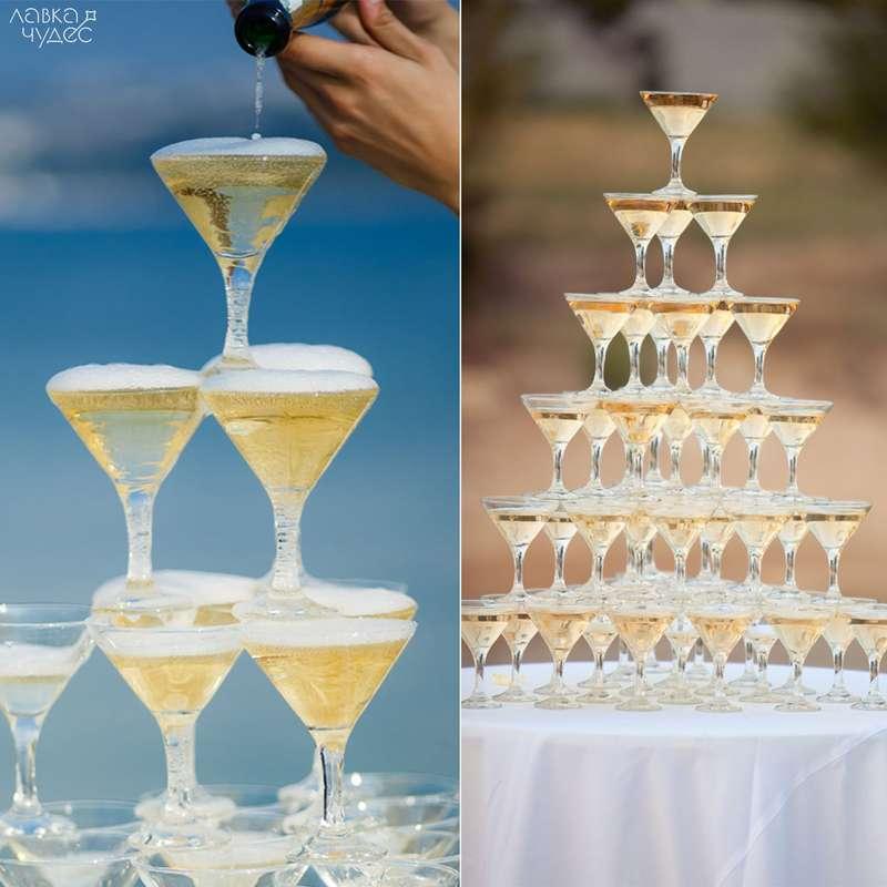 Своими руками пирамида из бокалов шампанского