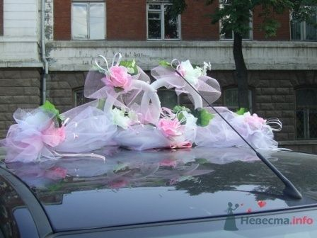 Фото 72253 в коллекции оформление свадебных автомобилей