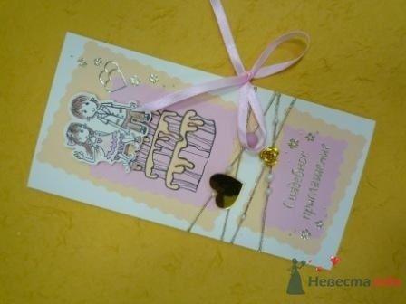 """Фото 72318 в коллекции свадебные приглашения и конверты ручной работы - """"Дом праздника"""" - свадебное оформление"""