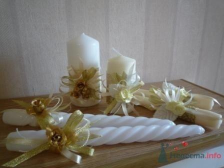 """Фото 72330 в коллекции свадебные свечи - """"Дом праздника"""" - свадебное оформление"""