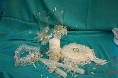 """Фото 72340 в коллекции свадьба в едином стиле (коллекции свадебных аксессуаров) - """"Дом праздника"""" - свадебное оформление"""