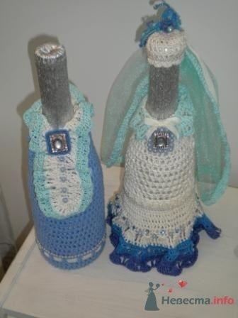 """Фото 72630 в коллекции свадебные бокалы и шампанское - """"Дом праздника"""" - свадебное оформление"""