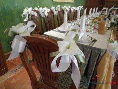 """Фото 72635 в коллекции оформление свадебных залов - """"Дом праздника"""" - свадебное оформление"""