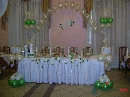 """Фото 72647 в коллекции оформление свадебных залов - """"Дом праздника"""" - свадебное оформление"""