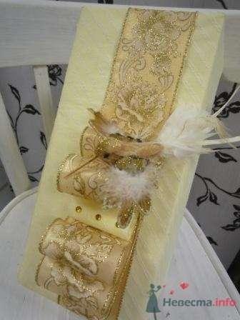 """Фото 72662 в коллекции упаковка подарков - """"Дом праздника"""" - свадебное оформление"""