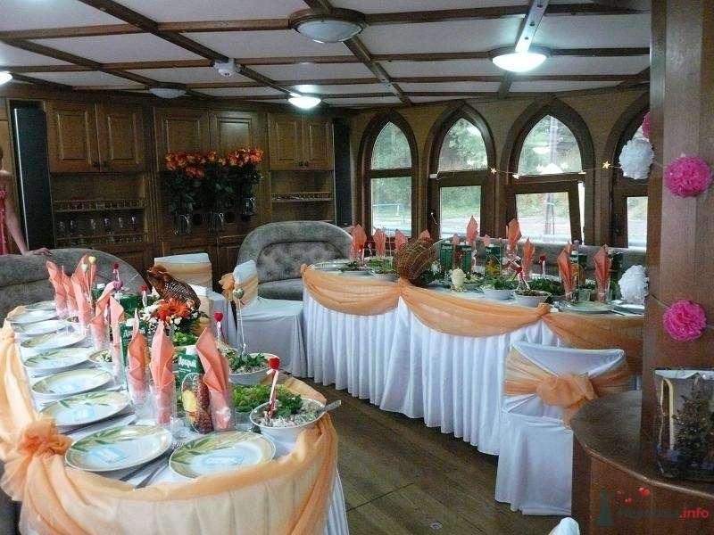 """Кают-компания: всё готово к празднику - фото 74087 СК """"Виктория"""" - свадьба на яхте,парусном фрегате"""