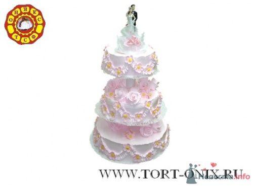 """Свадебный торт - фото 4287 Кондитерская компания """"ТСФ Оникс"""""""