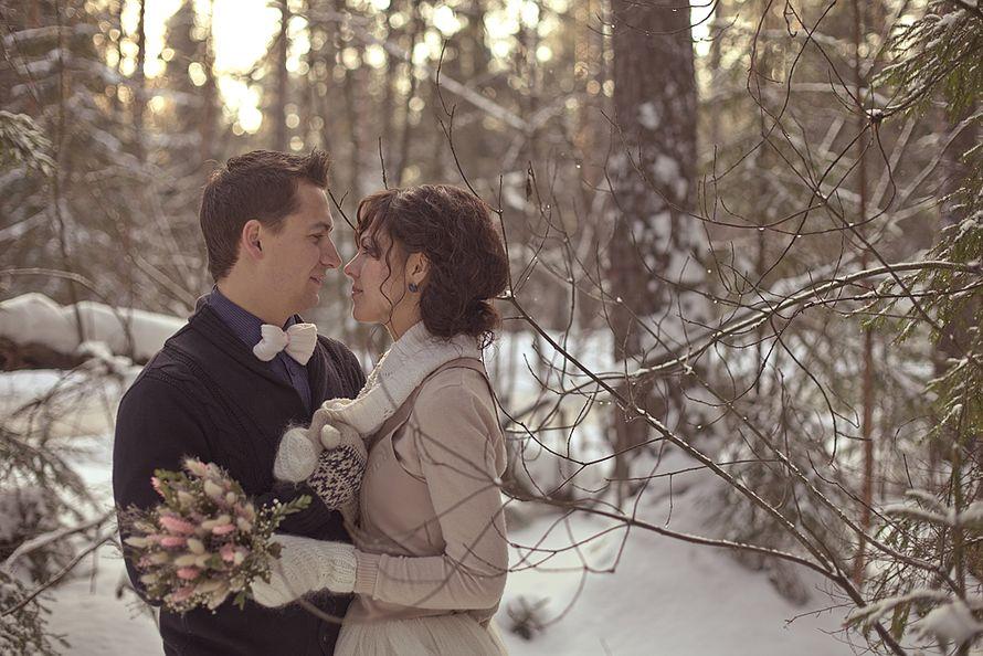 Фото 1934391 в коллекции Зимняя LoveStory Анастасии и Дмитрия - Свадебный фотограф Анна Алфёрова