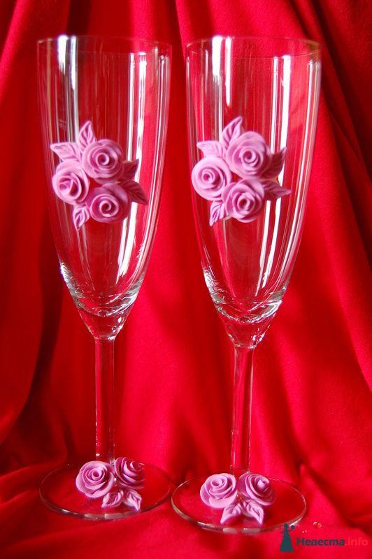Фото 90829 в коллекции Свадебные бокалы с ручной лепкой!!! - Невеста01