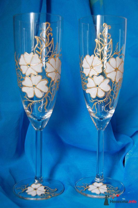 Фото 99880 в коллекции свадебные бокалы!!!!! - Невеста01